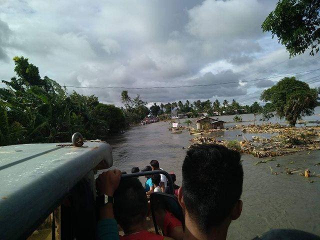 Typhoon Usman flooding