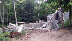 Cotabato Earthquake damage