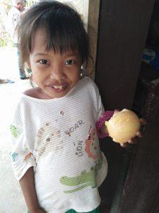 Mangyan Child with Apple