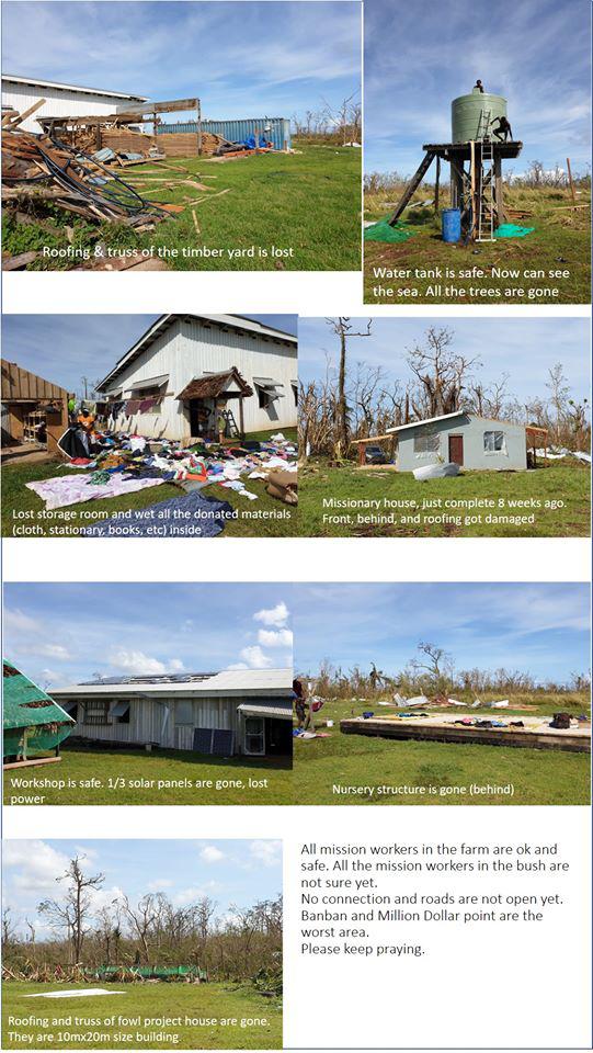 Santo Bush Mission farm damage