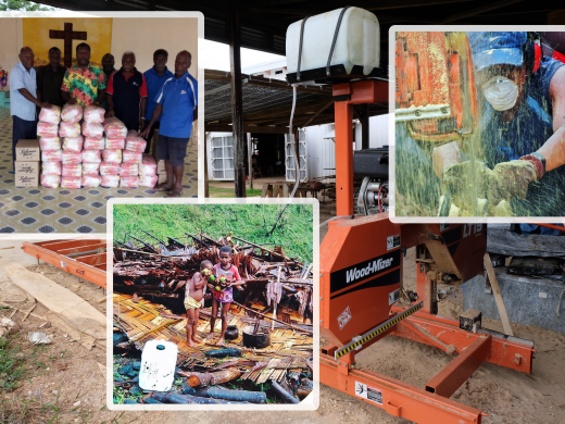 Sawmill and Relief Vanuatu