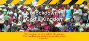 No Lockdown in God's Kingdom