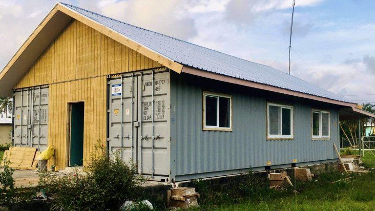 TONGA – Radio Station Building Update