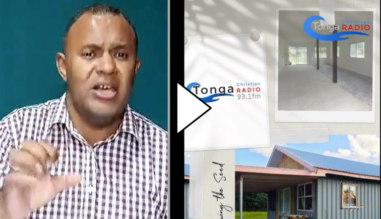 Tonga Christian Radio update